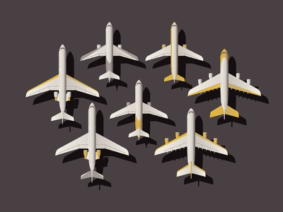 Mystery Project 44.1 dkng planes plane airplane airport vector dan kuhlken nathan goldman