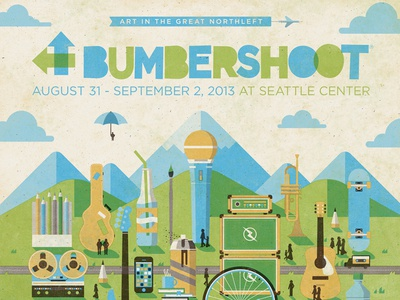 Bumbershoot 2013 Official Poster