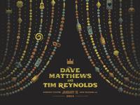 Dave Matthews & Tim Reynolds New Orleans Poster