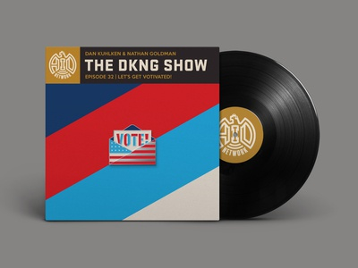 The DKNG Show (Episode 32) flag pin brooch enamel pins enamel pin the dkng show podcast adventures in design vote dkng studios dkng nathan goldman dan kuhlken