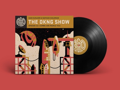 The DKNG Show (Episode 33) podcast adventures in design planet space rocket vinyl dkng studios vector dkng nathan goldman dan kuhlken