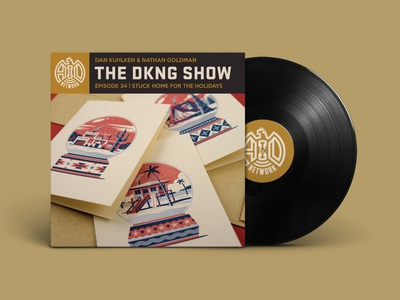 The DKNG Show (Episode 34) snow globe letterpress vinyl adventures in design podcast dkng studios dkng nathan goldman dan kuhlken