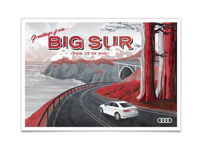 The All New Audi A3 - Big Sur