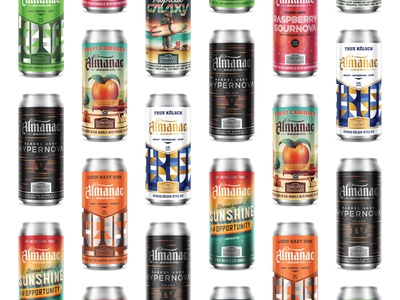 Happy National Beer Day! branding brand almanac beer cans beer label beer branding beer can beer dkng dkng studios vector nathan goldman dan kuhlken