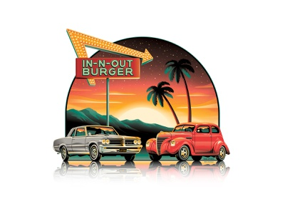 In-N-Out Burger 2021 Official Tee - Summer Edition!