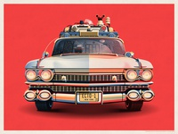 Ghostbusters 30th Anniversary Ecto-1