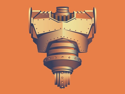 Mystery Project 58 dkng vector robot metal bolts dan kuhlken nathan goldman