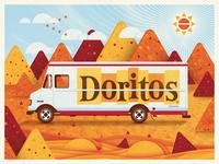 Doritos Art Print