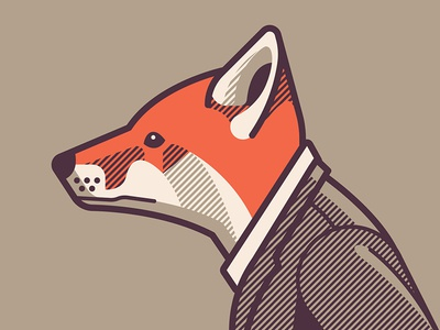 Mystery Project 68 dkng vector fox suit face profile dan kuhlken nathan goldman