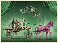 The Wizard Of Oz Poster (Purple)