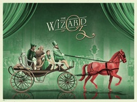 The Wizard Of Oz Poster (Red)