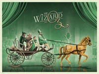 The Wizard Of Oz Poster (Yellow)
