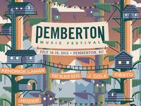 Pemberton Music Festival Poster