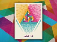 Alt-J Poster