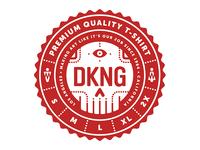 DKNG Shirt Sticker