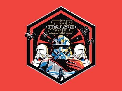 Star Wars 'The First Order' Metal Print captain phasma first order the force awakens star wars nathan goldman dan kuhlken print metal vector dkng