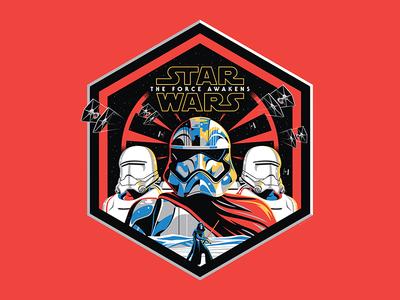 Star Wars 'The First Order' Metal Print