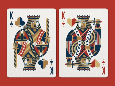 Face Off Friday (King of Clubs vs King of Hearts)