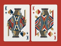 Face Off Friday (King of Spades vs King of Diamonds)