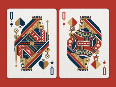 Face Off Friday (Queen of Spades vs Queen of Diamonds)