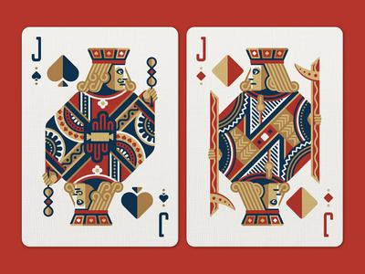 Face Off Friday (Jack of Spades vs Jack of Diamonds) playing card nathan goldman dan kuhlken poker card diamond spade jack vector dkng