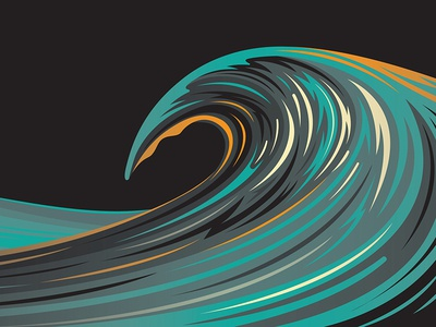 Mystery Project 74 nathan goldman dan kuhlken ripples waves ocean water wave vector dkng