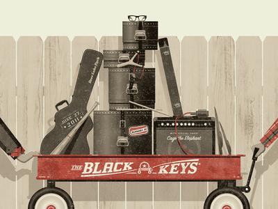 New Skillshare Class July 25! black keys nathan goldman dan kuhlken fence guitar drums bass instruments wagon skillshare vector dkng