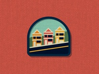 Outside Lands Patch: Painted Ladies