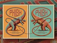 Phish Alpharetta, GA Posters
