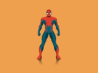 Spider-verse spider-man vector dkng studios nathan goldman dan kuhlken infographic poster mondo marvel spiderman dkng