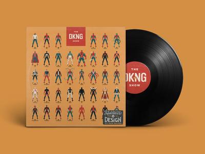 The DKNG Show (Episode 8) spider-man spiderman adventures in design nathan goldman dan kuhlken mockup vinyl design dkng illustration