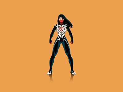 Spider-verse dkng spiderman marvel mondo poster infographic dan kuhlken nathan goldman dkng studios vector spider-man