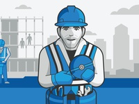 Bluebeam Software Illustration (General Contractor)