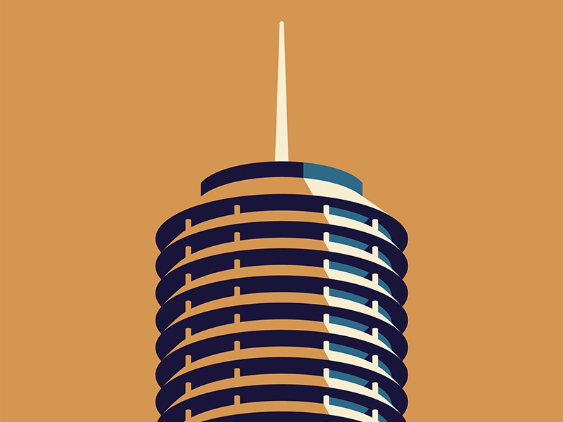 Mystery Project 84.1 capitol records los angeles dkng studios nathan goldman dan kuhlken building la dkng