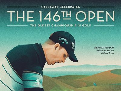 Callaway Open Championship Poster