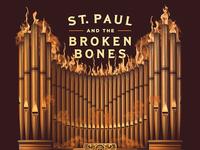 St. Paul & The Broken Bones 2017 Tour Poster