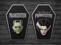 Universal Monsters Enamel Pins