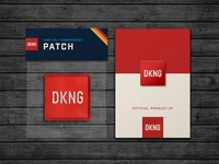 DKNG Brand Patch & Pin