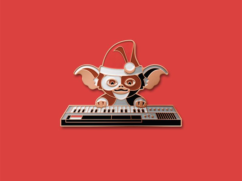 Gremlins: Showtime Pin enamel pin dkng studios nathan goldman dan kuhlken keyboard piano car gremlin mogwai gizmo gremlins dkng
