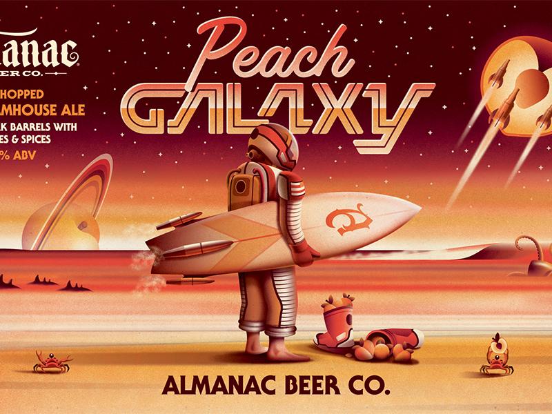 Peach galaxy 2
