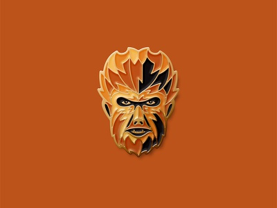 Universal Monsters: The Wolfman Pin enamel pin dkng studios nathan goldman dan kuhlken wolf werewolf wolfman dkng