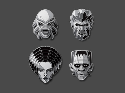 Universal Monsters: Silver Screen Edition