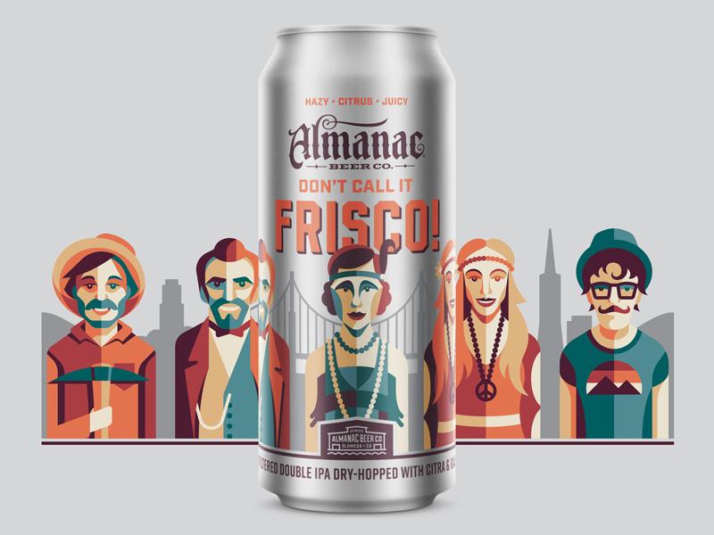 Don't Call It Frisco IPA san francisco dkng studios nathan goldman dan kuhlken can packaging beer almanac dkng