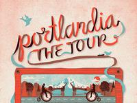 """""""Portlandia, The Tour"""" Poster"""