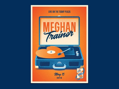 Meghan Trainor record player new york meghan trainor dkng studios nathan goldman dan kuhlken vinyl heart today summer turntable dkng