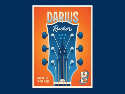 Darius Rucker new york empire state building new york city dkng studios nathan goldman dan kuhlken nyc today gibson guitar dkng