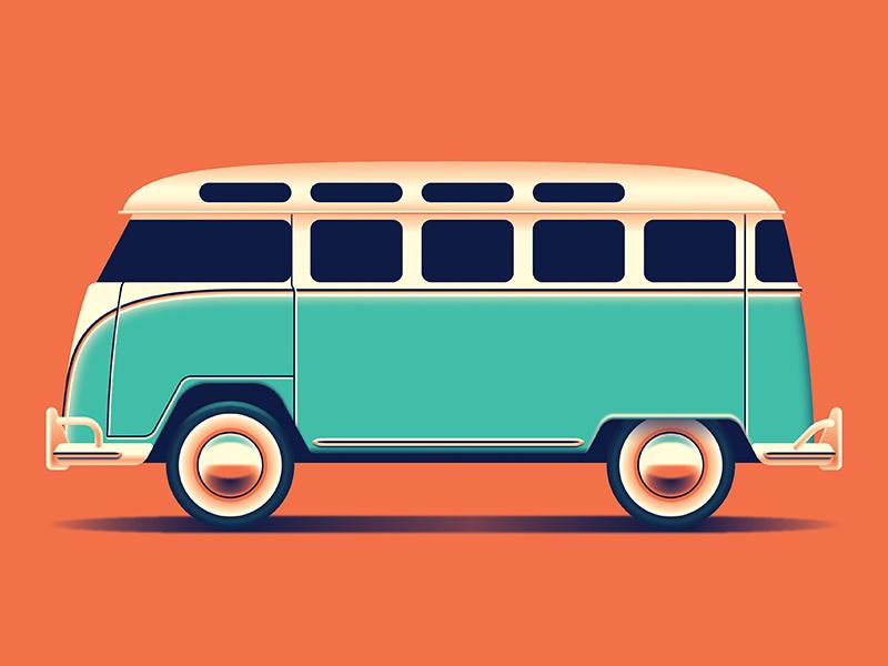 Mystery Project 90 vw bus dkng studios nathan goldman dan kuhlken van car volkswagon bus dkng