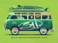 311 Reno, NV Poster (Foil Variant Band Edition)