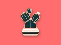 Prickly Pear Pin
