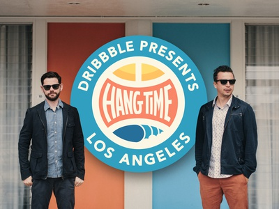Hang Time LA Workshop: Creative Collaboration with DKNG dribbble hangtime california los angeles dkng studios dkng nathan goldman dan kuhlken